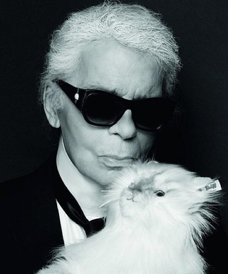 Karl Lagerfeld Is Bringing You the Most Fabulous Stuffed Animal
