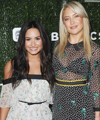 Demi Lovato's Fabletics Collab with Kate Hudson Actually Started at the Gym