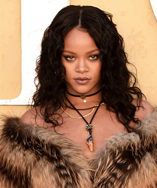 See Rihanna Win in a Fur Coat (and Nothing Underneath)
