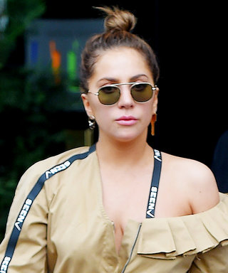 Lady Gaga Looks Ghostbuster-Chic on the Streets of N.Y.C.