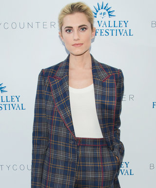 Why Allison Williams Thinks Every Woman Needs a Power Suit