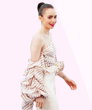 Who Wore It Better: Lily Collins? Or Lily Collins's Hair?