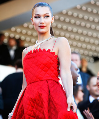 Bella Hadid's Cannes Red Carpet Look Is Pure Fire
