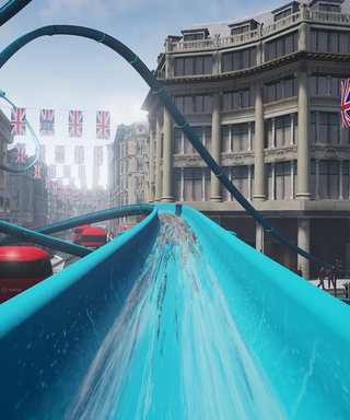 Topshop's In-Store Water Slide Might Be The Most Fun Thing Ever