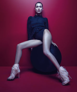 Bella Hadid Is All Legs in Giuseppe Zanotti's New Campaign