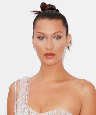 Bella Hadid's Crystal Sheer Dress Is Too Good to Be True