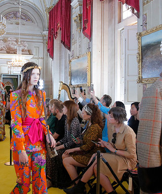 Gucci Presents Bold, Flashy Cruise 2018 Show in Florence
