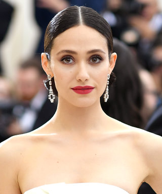 Emmy Rossum Had the Bright Idea of Repurposing Her Wedding Flowers