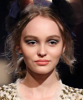 Lily-Rose Depp's White Eyeliner Will Make You Ditch Your Black One