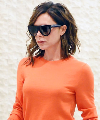 Victoria Beckham Just Made the Hardest Color Combination Look Effortless