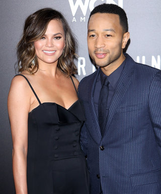 Chrissy Teigen Poses Naked with a Cake for John Legend onFather's Day