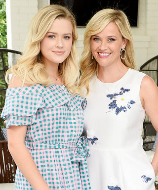 Reese Witherspoon and Her Look-Alike Daughter Stun in Coordinating Patterned Frocks
