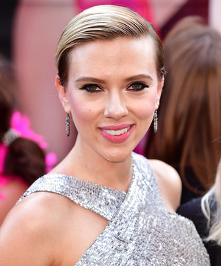 Scarlett Johansson Glittered at the Rough Night Premiere in a Disco Ball Dress