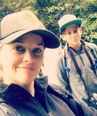 Reese Witherspoon and Her Look-Alike Son Go on a Nature Adventure