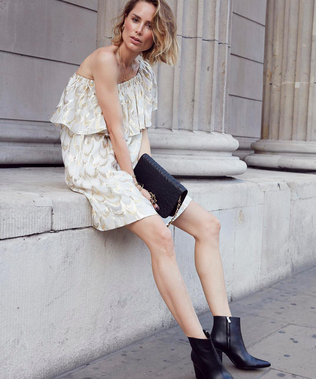 Scandi Style Blogger Anine Bing On How To Wear Boots All Year Round