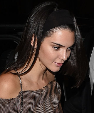 Kendall Jenner Continues to Embrace '90s Style in Paris