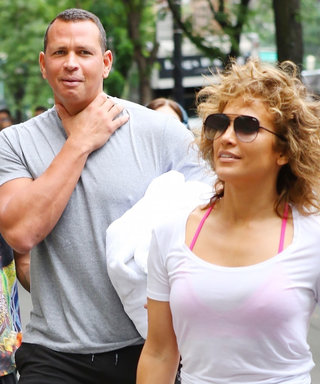 Jennifer Lopez and Alex Rodriguez Totally Twinned at the Gym