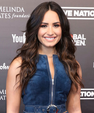 Demi Lovato Is a Major '70s Babe on the Red Carpet