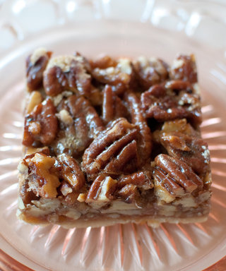 Make These Guilt-Free Pecan Squares