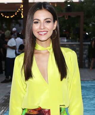 Victoria Justice's Neon Night out Look Is a Must-See