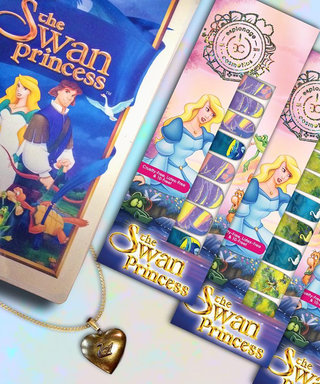 '90s Kids Are Going to Love This Swan Princess Beauty Launch