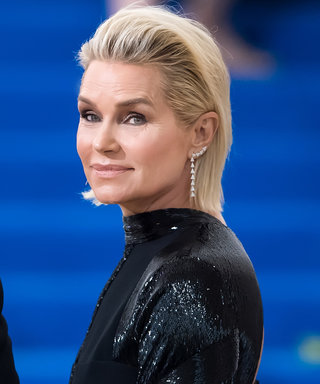 Yolanda Hadid Channels Her Daughters Gigi and Bella in a See-Through Black Mesh Top