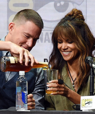 Here's What Halle Berry Had to Say About Chugging That Glass of Whisky