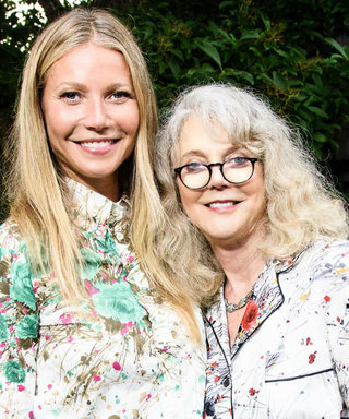 Gwyneth Paltrow Matches with Mom Blythe Danner with Pajama-Inspired Outfits