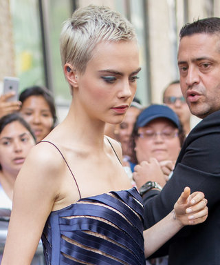 You Have to See Cara Delevingne's Peekaboo Top