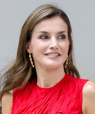 Queen Letizia Repurposes the Dress She Wore to Meet Michelle Obama Last Summer