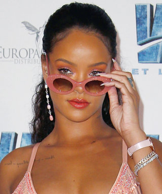 Rihanna out Rihannas Herself in This All Pink Everything Look