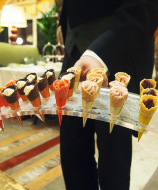 A London Hotel Is Now Offering Ice Cream Afternoon Tea #Want