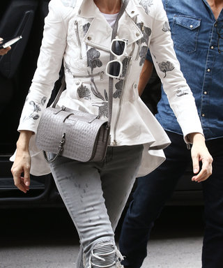 We're in Love With Celine Dion's Monochromatic Look