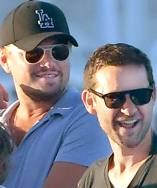 Leonardo DiCaprio and Tobey Maguire Take Their Bromance to a Yacht in St. Tropez