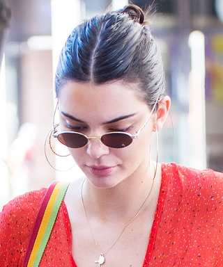 Kendall Jenner Wore a Completely Sheer Top While Out in N.Y.C. with Bella Hadid