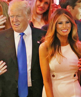 Melania Trump Recycles a Michael Kors Dress from the Campaign Trail