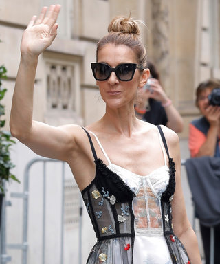 Let Celine Dion Blow Your Mind in This Lingerie-Inspired Gown