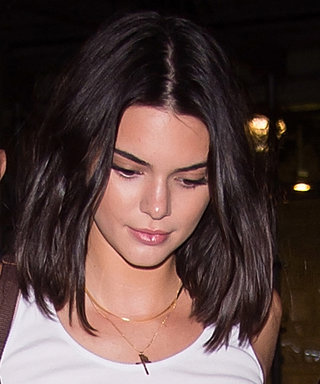 Kendall Jenner Flashes Major Underboob During a Girls' Night Out with Her Model Pals