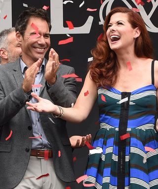 Here's How the Cast of Will & Grace Celebrated Their First Day Back on Set