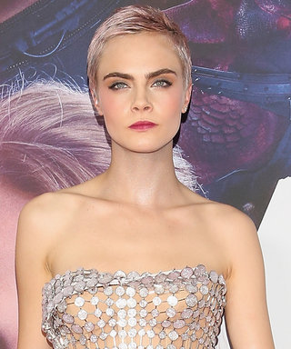 Cara Delevingne's Naked Dress Is Seriously out of This World