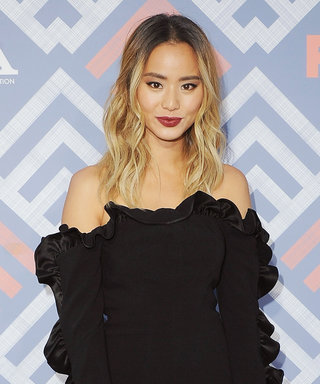 Jamie Chung's LBD Is Two Major Trends in One