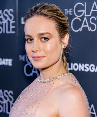 Brie Larson Looked Like a Modern-Day Grace Kelly in Monique Lhuillier