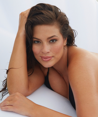 Ashley Graham Wore the Tiniest String Bikini and Angel Wings in Jamaica