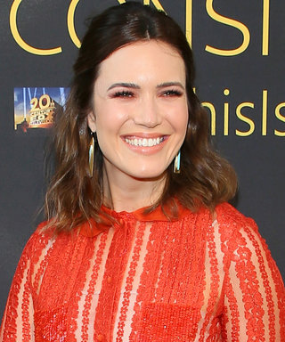 We're in Love With Mandy Moore's Red-Hot, Sheer Gown
