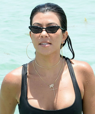 Kourtney Kardashian Stuns in the Tiniest String Bikini in Throwback Photos from Her Egypt Trip