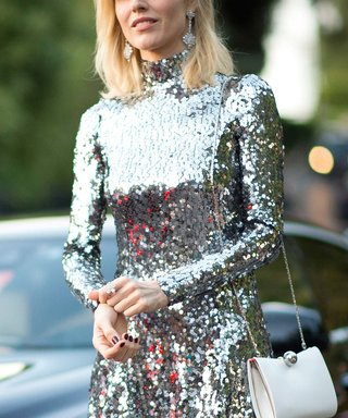 This Fall's Major Fashion Trend Is All About the Sparkle