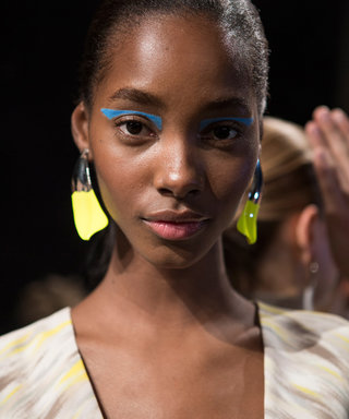 Blue, Red And Yellow Are The Eyeshadow Colours To Rock This AW17. This Is How To Pull It Off...