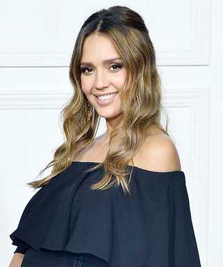 Jessica Alba's Baby Bump Won Best Dressed at the Rachel Zoe Collection Party in L.A.