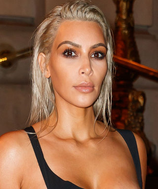 Kim Kardashian West Places a Sexy Spin on the LBD