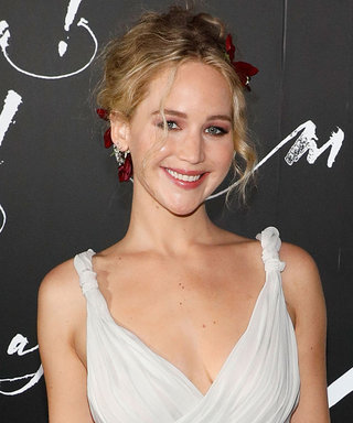 J.Law Is an IRL Princess for This Red Carpet PDA Moment
